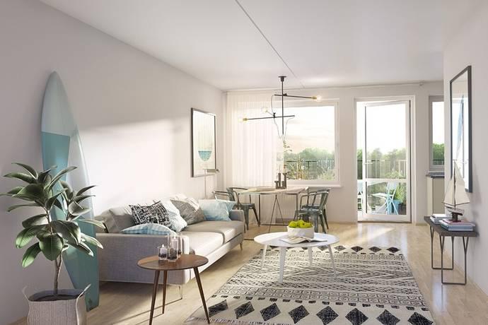 Bild: 1 rum bostadsrätt på Vårflodsgatan 17, Tyresö kommun