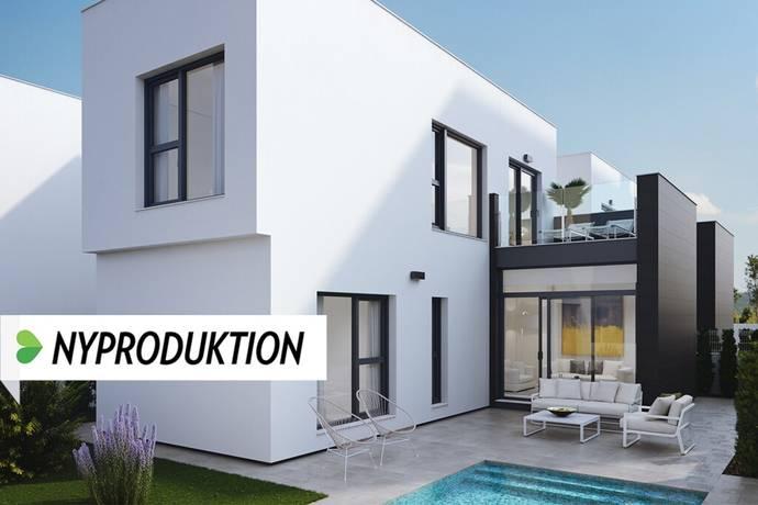 Bild: 4 rum villa på Nya villor i spansk atmosfär, Spanien Torrevieja Söder - Villamartin
