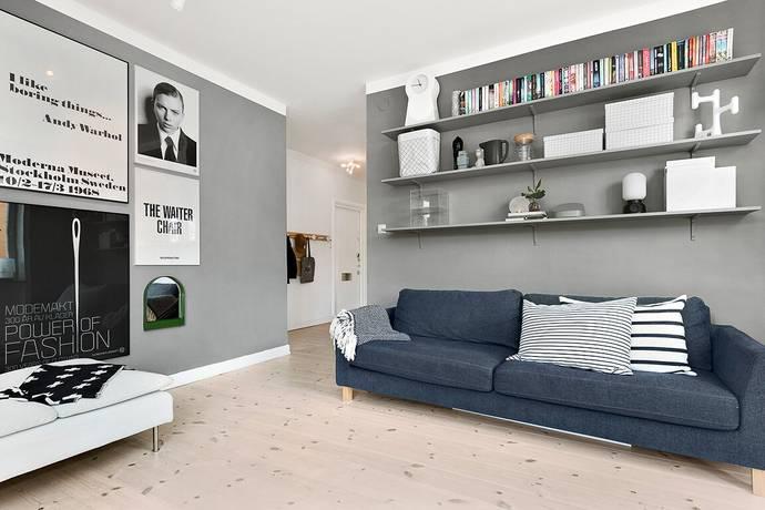 Bild: 2 rum bostadsrätt på S:T Ansgars Väg 10A, Solna kommun Råsunda