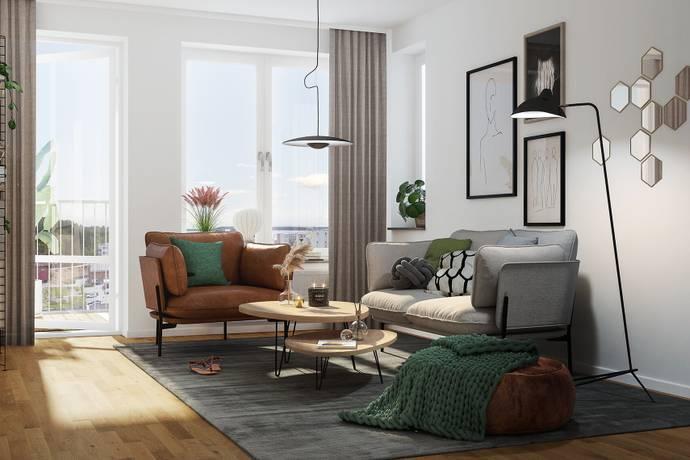 Bild: 2 rum bostadsrätt på Maskinistvägen 13, Järfälla kommun