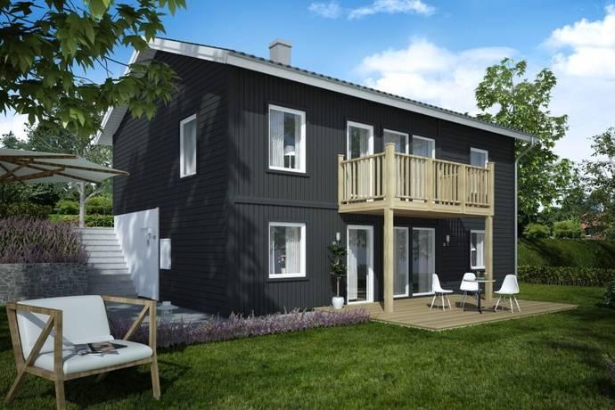 Bild: 6 rum villa på Prästerydsvägen tomt 3, Alingsås kommun Torvmossen