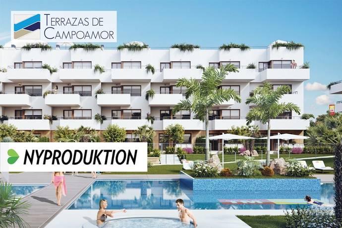 Bild: 4 rum bostadsrätt på Gedigna lägenheter med högt läge i Lomas de Cabo Roig, Spanien Torrevieja Söder - Lomas de Cabo Roig