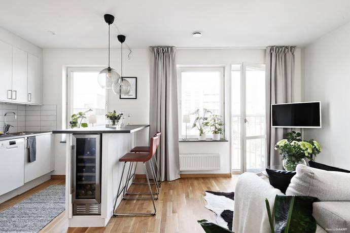 Bild: 1 rum bostadsrätt på Åby Allé 5, Mölndals kommun Stallbacken