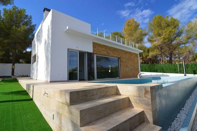 Bild: 4 rum villa på Friståede villor med modern stil, Spanien Benissa - Alicante - Costa Bla
