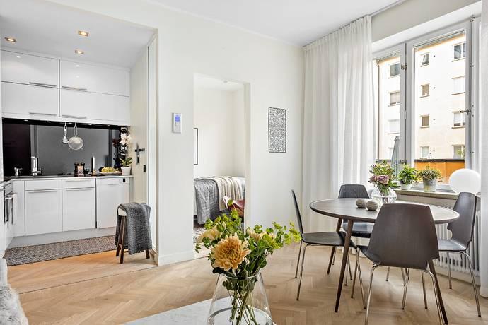 Bild: 2 rum bostadsrätt på Artillerigatan 29, 1 ½ tr, Stockholms kommun Östermalm
