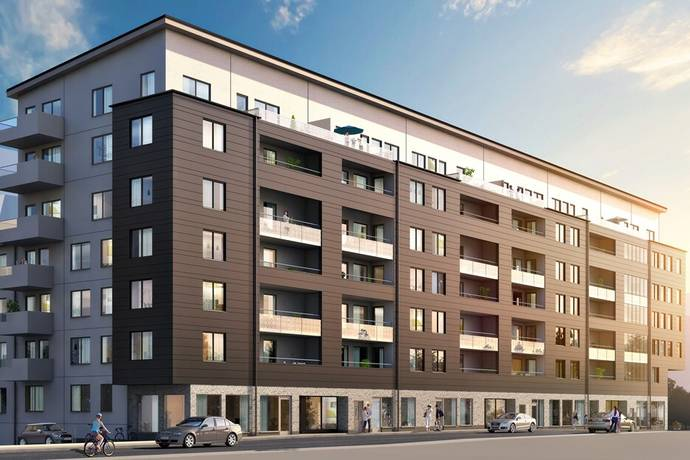 Bild: bostadsrätt på Heliosparken 1, Hammarby Sjöstad, Stockholms kommun Hammarby Sjöstad