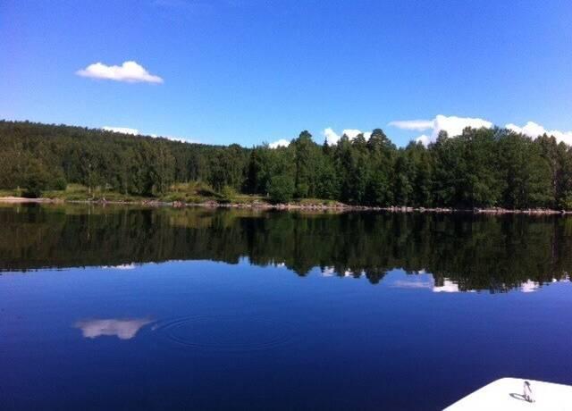 Bild: tomt på Norrdellsvägen  - Björsbo, Hudiksvalls kommun Dellenbygden