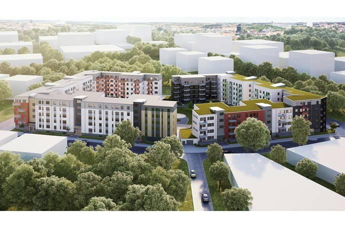 Bild från Barkarbystaden - Brf Flyga