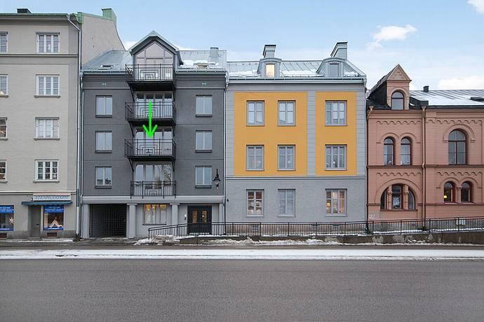 Bild: 4 rum bostadsrätt på Köpmangatan 4, Sundsvalls kommun Stenstaden