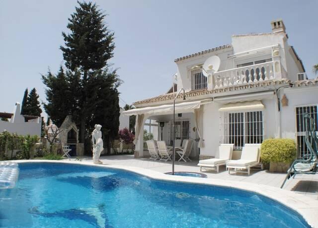 Bild: 6 rum villa på Vacker villa med härlig havsutsikt, Torrox, Spanien Torrox Park