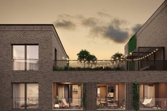 Bild: 3 rum bostadsrätt på Brf Block E1001, Uppsala kommun Kapellgärdet