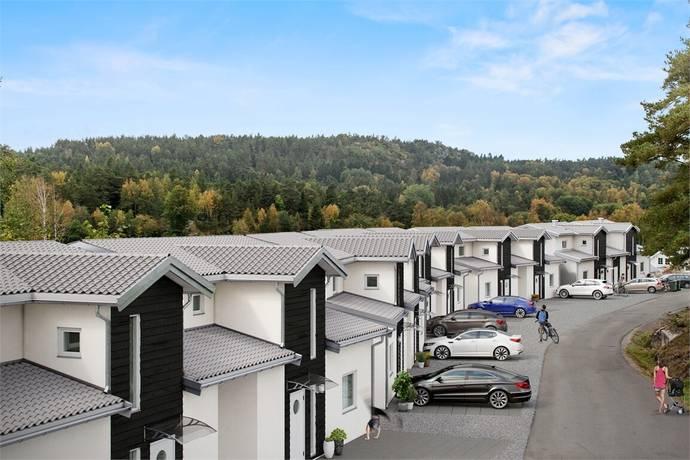 Bild: 6 rum radhus på Matskärsvägen 14B, Kungälvs kommun Tjuvkil