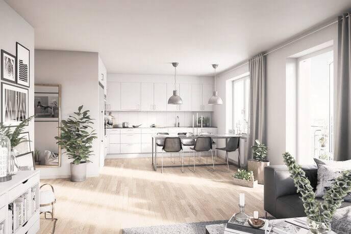 Bild: 3 rum bostadsrätt på BRF ÅSIKTEN SÖDRA 1 (4501), Uppsala kommun