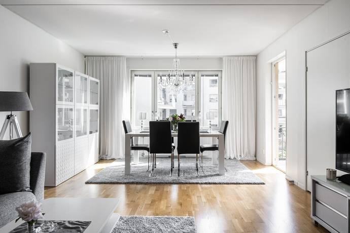 Bild: 3,5 rum bostadsrätt på Redargatan 3, 3 tr, Stockholms kommun Hammarby Sjöstad