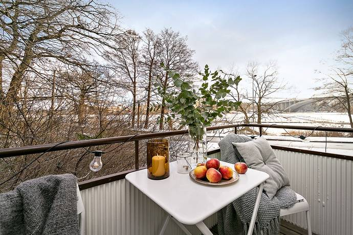 Bild: 2 rum bostadsrätt på Svartviksvägen 23, Stockholms kommun Traneberg