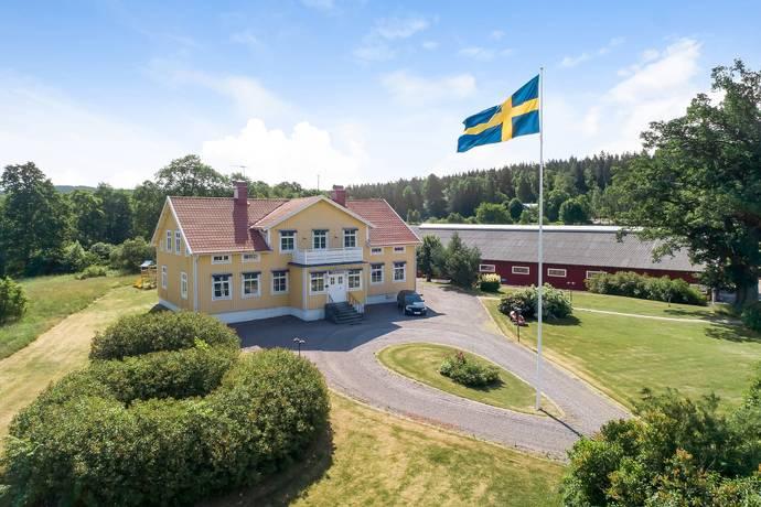 Bild: 10 rum gård/skog på Bäckseda Prästgård 1, Vetlanda kommun Bäckseda