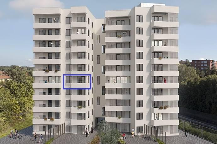 Bild: 2 rum bostadsrätt på Klädesvägen 38 B, Stockholms kommun Brommaplan