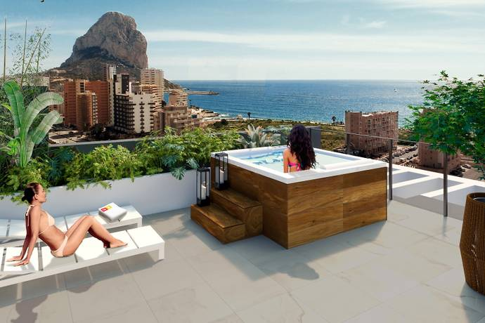 Bild: 3 rum bostadsrätt på Calpe, Alicante, Spanien Calpe