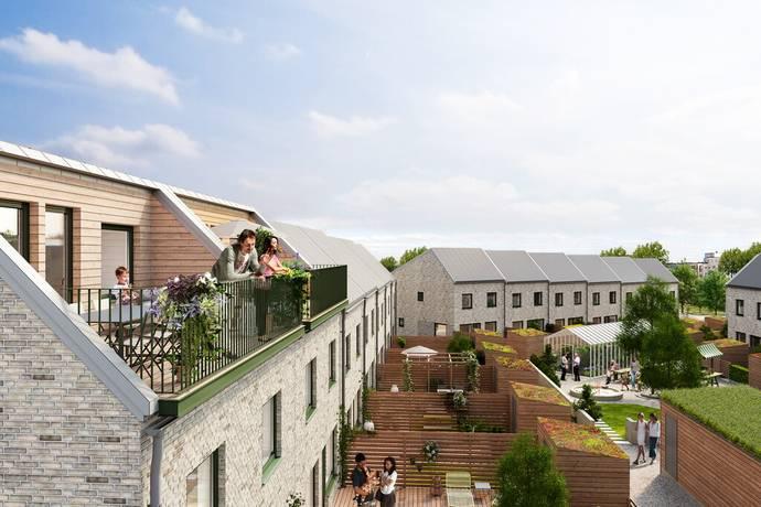 Bild: 5 rum bostadsrätt på Trädgårdsstaden - Brf Pionen lgh. nr 17, Ystads kommun