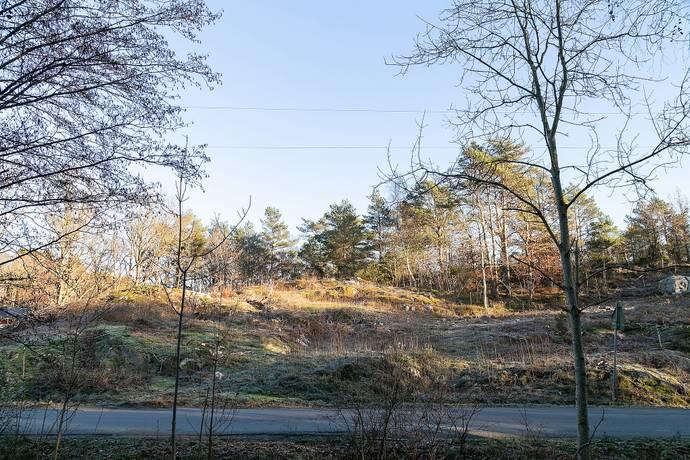 Bild: tomt på Årekärrsvägen  72B, Göteborgs kommun Billdal