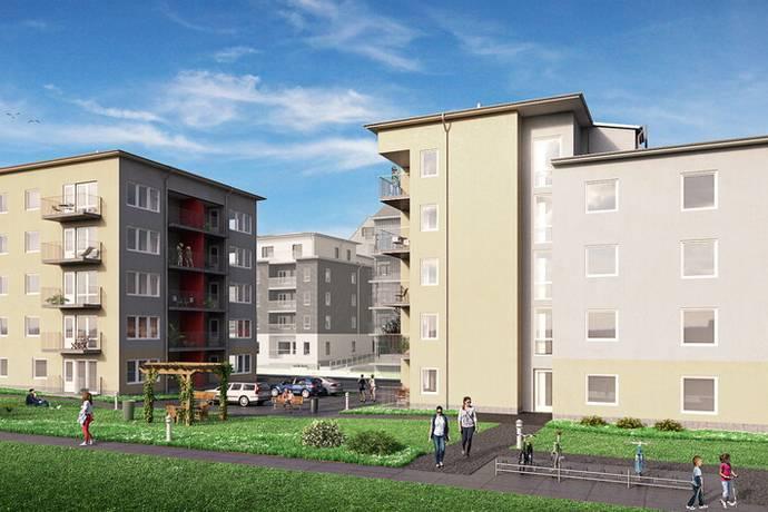 Bild: 2 rum bostadsrätt på Slöjdgatan, Linköpings kommun Övre Vasastaden