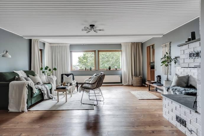 Bild: 4 rum villa på Ramhultavägen 43, Marks kommun