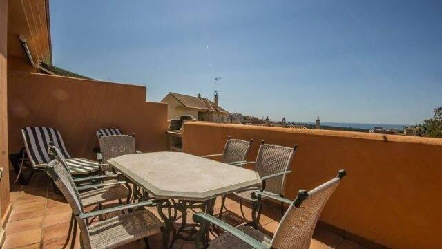Bild: 3 rum bostadsrätt på Penthouse beläget intill Santa Maria golfbana, Spanien Marbella - Elviria