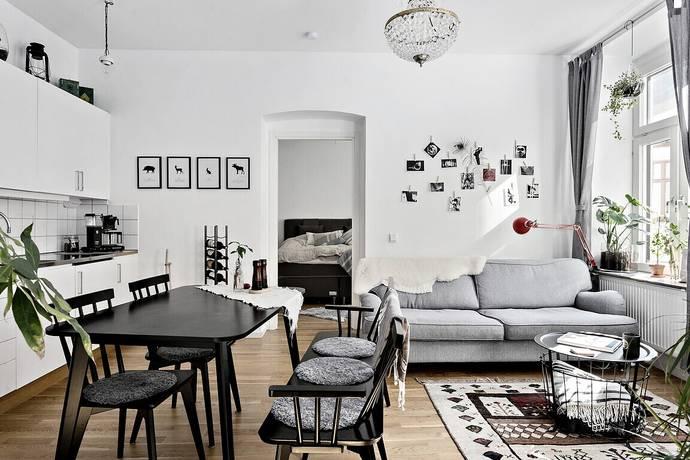 Bild: 2 rum bostadsrätt på Värmlandsgatan 16A, Göteborgs kommun Linné
