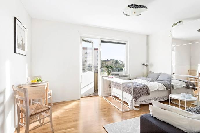 Bild: 1 rum bostadsrätt på Sigfridsvägen 11, 2 tr, Stockholms kommun Aspudden
