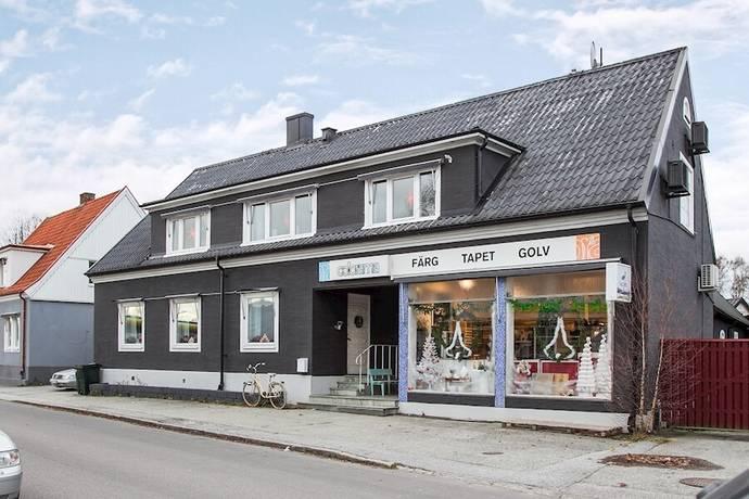 Bild: villa på Mejerigatan 3, Lunds kommun Veberöd