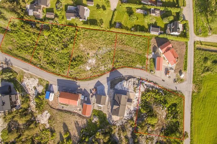 Bild: tomt på Amiralsvägen 3, Tanums kommun Grebbestad