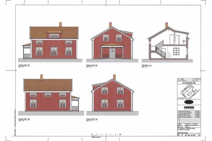 Bild: 5 rum villa på Läroverket 3, Borlänge kommun Östermalm
