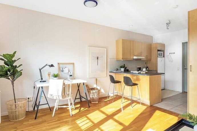 Bild: 1 rum bostadsrätt på Dag Hammarskjölds väg 15 B, Uppsala kommun Centrum