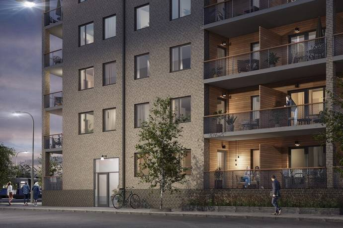 Bild: 3 rum bostadsrätt på Kastanjeallén, Göteborgs kommun Tynnered