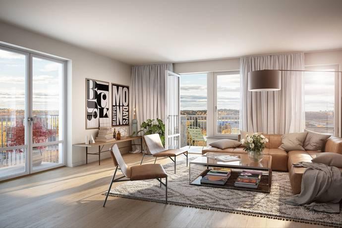 Bild: 2,5 rum bostadsrätt på Kratsbodavägen 46 B, Stockholms kommun Bromma - Mariehäll