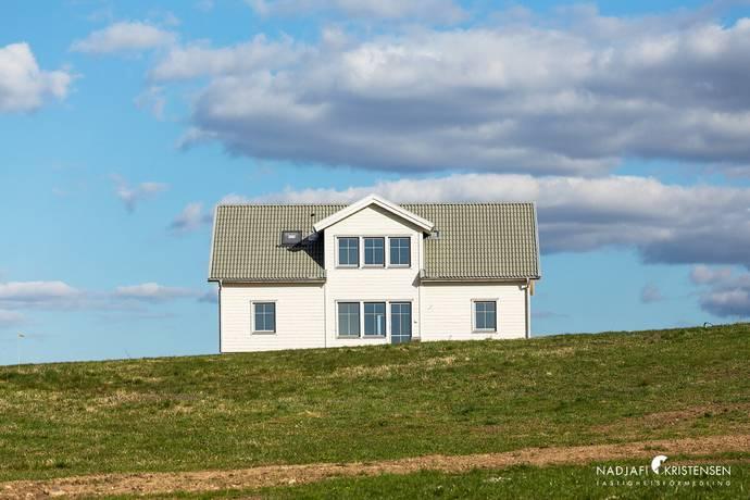 Bild: villa på Skolebacksvägen 2, Båstads kommun Grevie Kyrkby