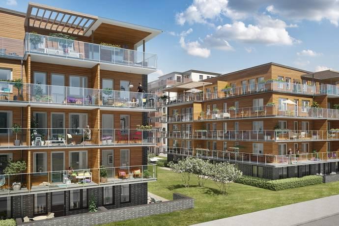 Bild: 2 rum bostadsrätt på Grindtorps skolgränd 40, Täby kommun Täby centrum