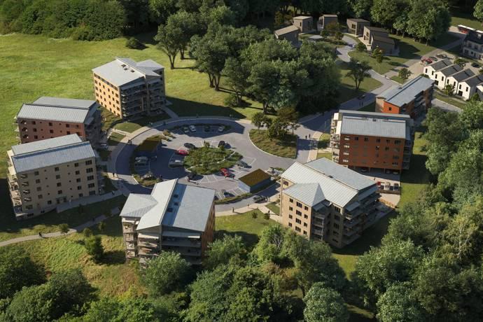 Bild från Hjulsbro - Läge för nya bostadsrätter i södra Hjulsbro!