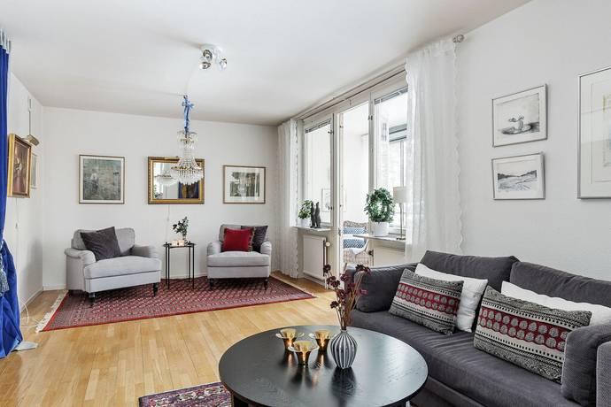 Bild: 4 rum bostadsrätt på Mörbydalen 21, Danderyds kommun Mörbyskogen