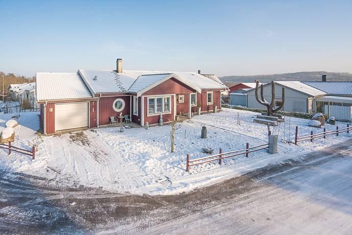 Bild: 3 rum villa på Hagflyvägen 2, Halmstads kommun Åled / Spånstad