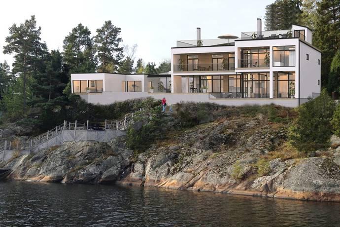 Bild: 8 rum villa på Bergströms väg 4, Värmdö kommun Ingarö