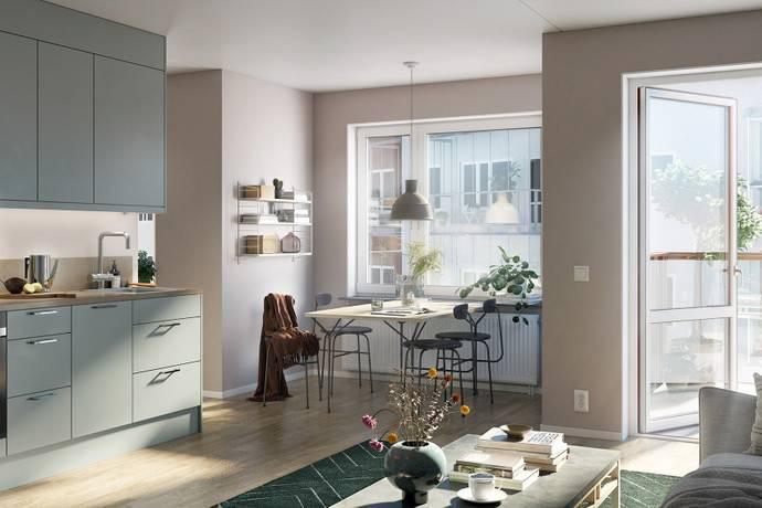 Bild: 1 rum bostadsrätt på Torngatan 5, Uppsala kommun