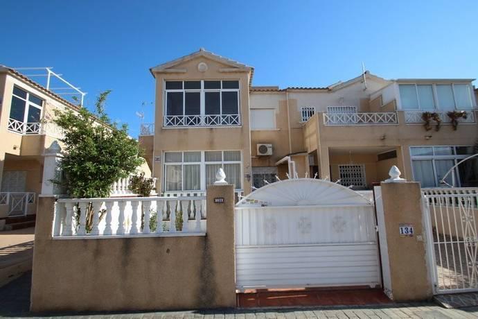 Bild: 3 rum radhus på 1.5 km ifrån stranden, Spanien Centralt Hörn Radhus