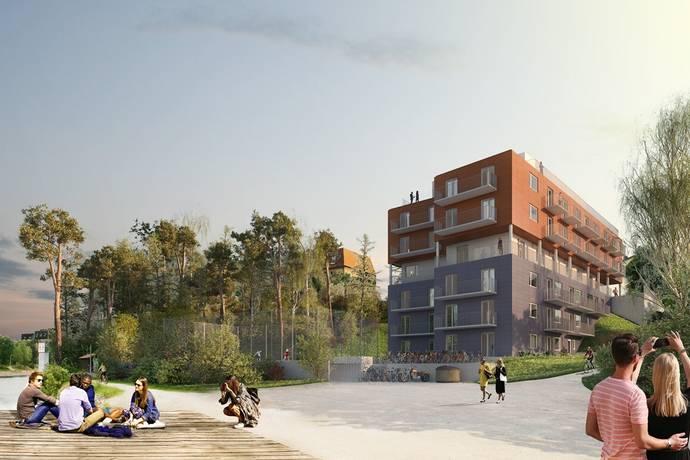 Bild: 2 rum bostadsrätt på Värdsholmsgatan 3, Södertälje kommun Centralt