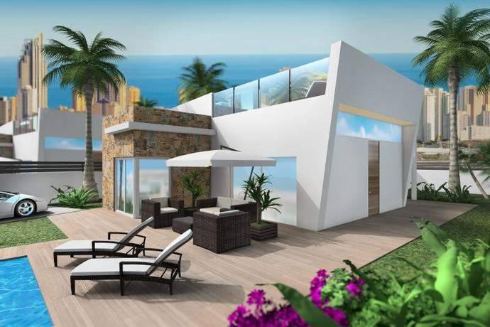 Bild: 4 rum villa på Villa i Finestrat, Alicante, Spanien Finestrat