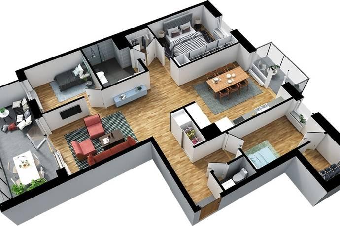 Bild: 4 rum bostadsrätt på Vendergatan 17, Kungälvs kommun