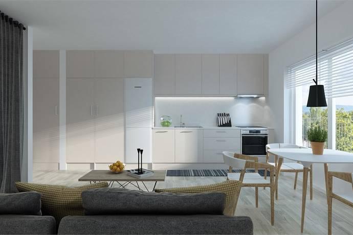 Bild: 1 rum bostadsrätt på Brf Snödroppsgränd, lgh 4:1104, Stockholms kommun Hässelby Norra Villastad