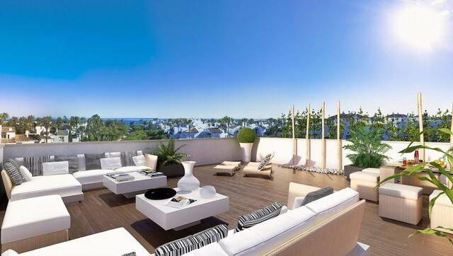 Bild: 3 rum bostadsrätt på Penthouse i Estepona, Málaga, Spanien Costalita
