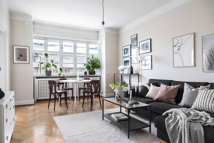 Bild: 2 rum bostadsrätt på Erik Dahlbergsgatan 24, Stockholms kommun Gärdet / Östermalm
