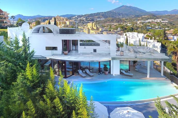 Bild: 4 rum villa på Modern villa i topp kvalité med härlig utsikt!, Spanien Marbella- Nueva Andalucia